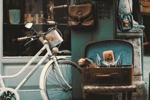 bicicleta em Luxemburgo